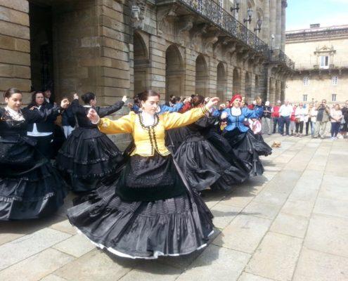 En la Plaza del Obradoiro