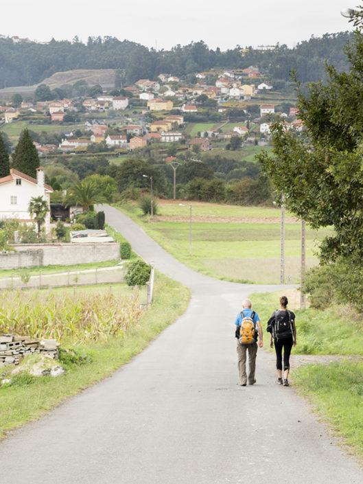 Camiño de Santiago-Vía da Prata ao seu paso por terras de Marrozos